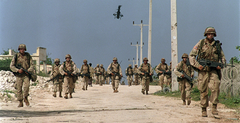 US Dispatches Its Troops to Somalia