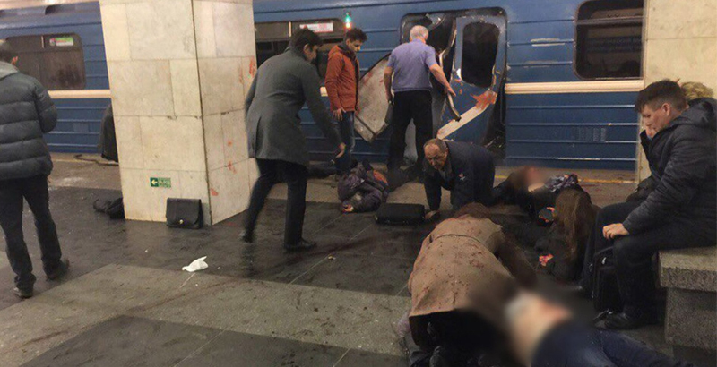 More Details of Explosion in Russia's St. Petersburg Subway