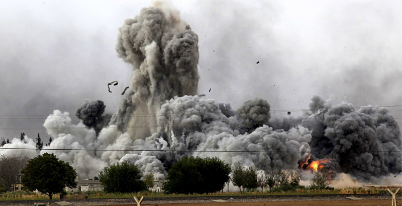 US-Led Coalition Once Again Bombs Iraqi Forces In Mosul