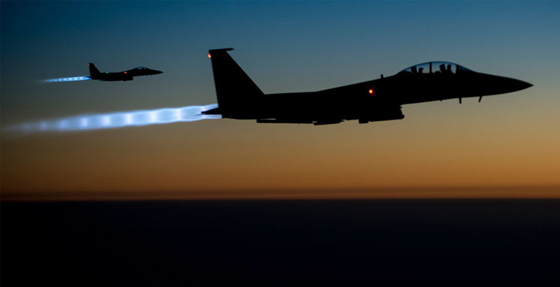 US-Led Coalition Says It Did Not Attack ISIS Warehouse with Chemical Weapons in Syria