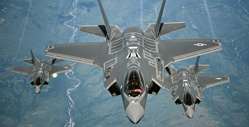 US Temporarily Deploys F-35 Fighter Jets in Europe