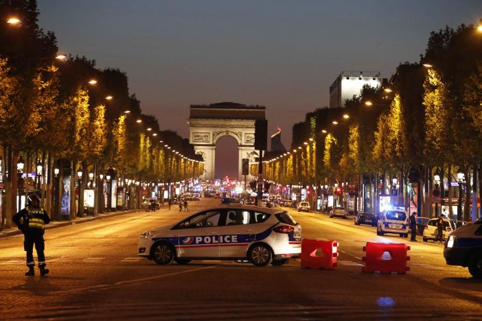 Policeman Killed In Shooting In Paris