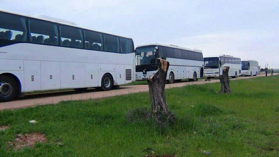 Mutual Evacuation in Idlib and Damascus (Evidence & Photos)