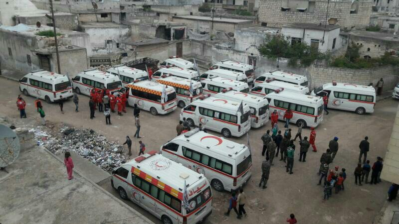 Mutual Evacuation in Idlib and Damascus (Evidence & Photos)