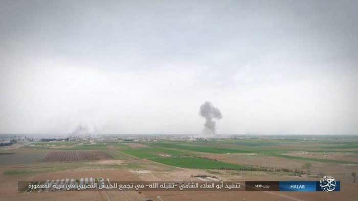 ISIS Repels Syrian Army Attempt to Outflank Jirah Airbase