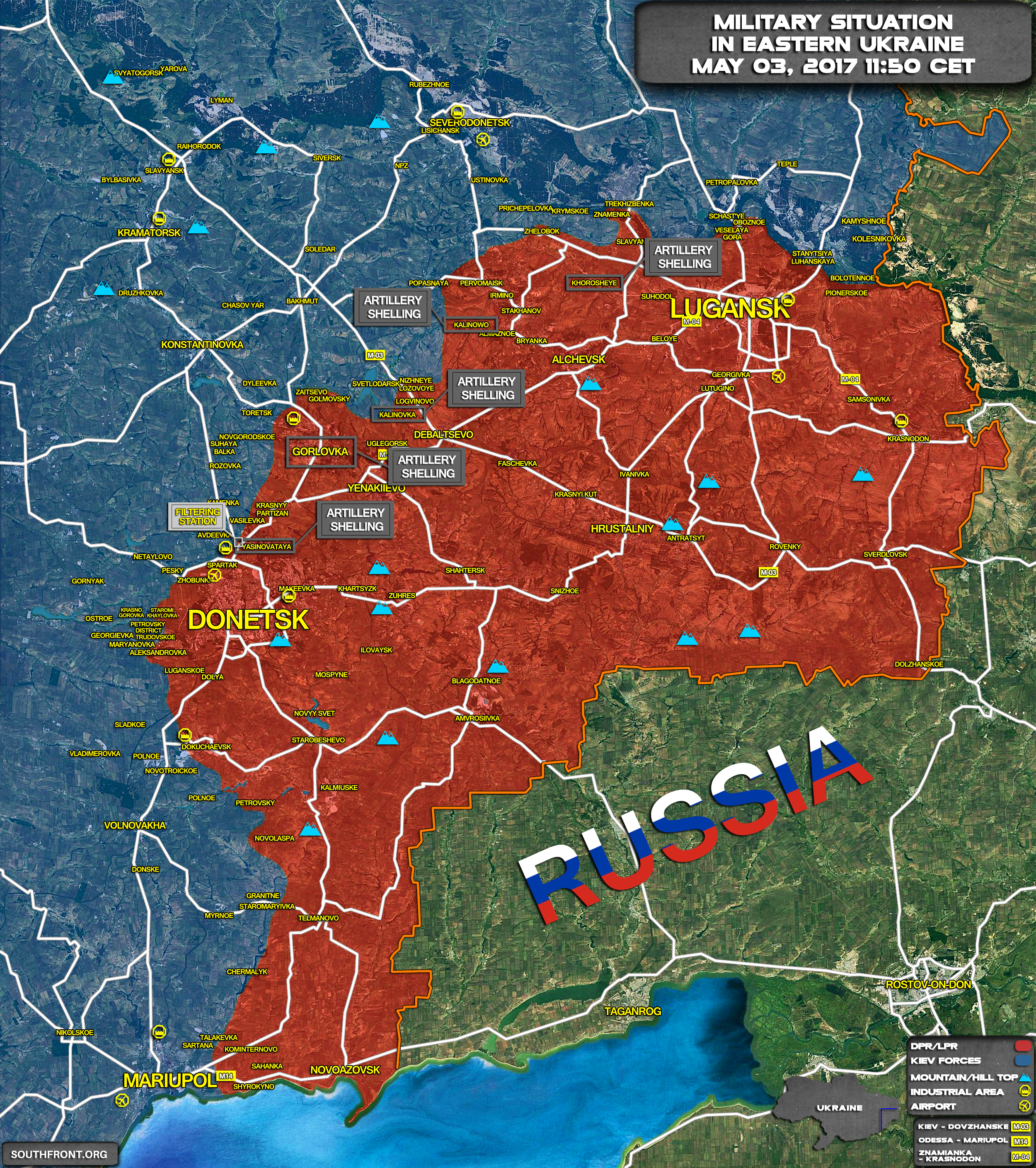 Humanitarian Situation Worsening In Eastern Ukraine Amid Continued Military Tensions