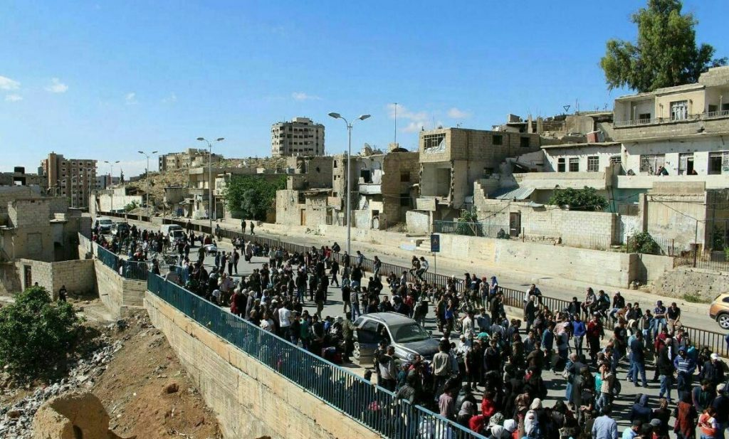 Last Banch Of Militants Leaves al-Waer In Homs. District Transfers Under Control Of Government Forces (Photos)