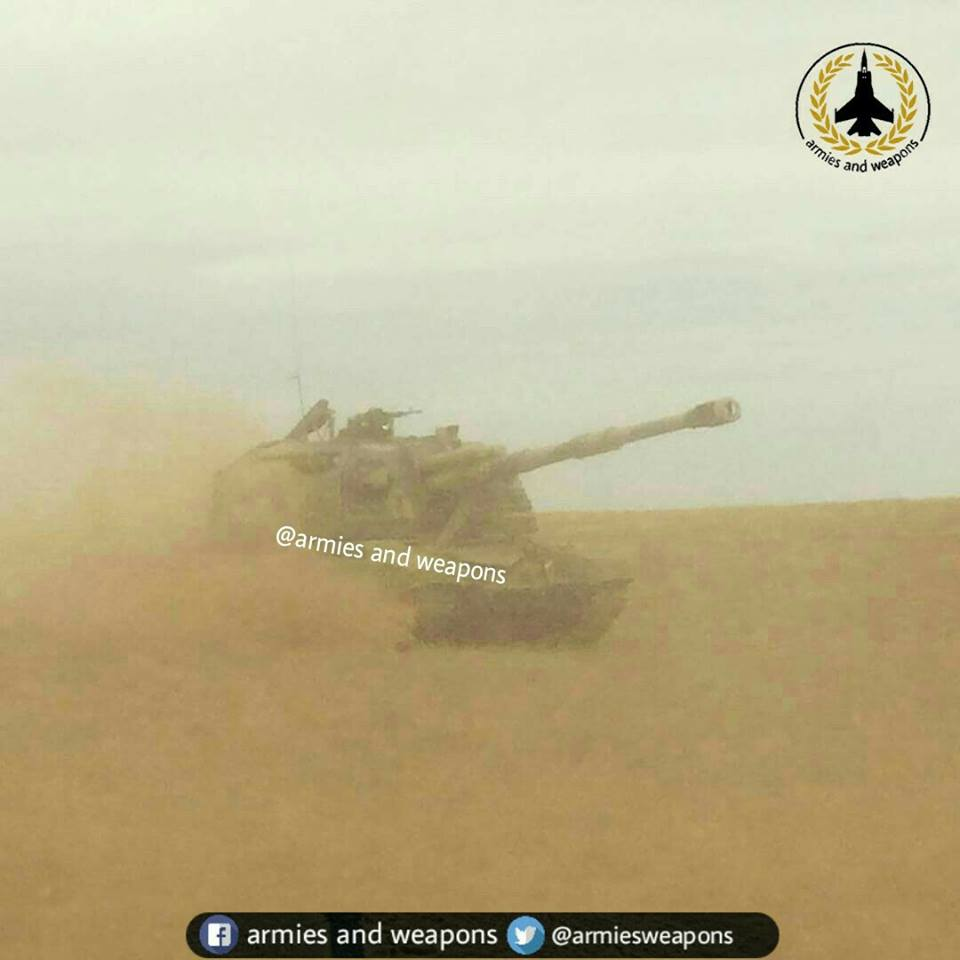 2S19 Msta-S Self-Propelled Howitzer Spotted In Syria