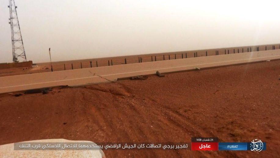 Norwegian Force Deeployed At Al-Tanf Border Crossing At Syrian-Iraqi Border