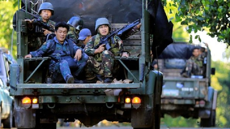 Philippines Military Setps Up Efforts To Expel ISIS Terrorirsts From Marawi. 46 People Killed