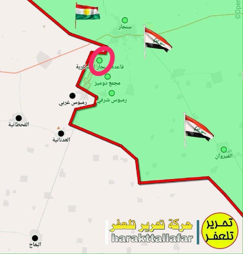 Popular Mobilization Units Liberated Sinjar Military Base