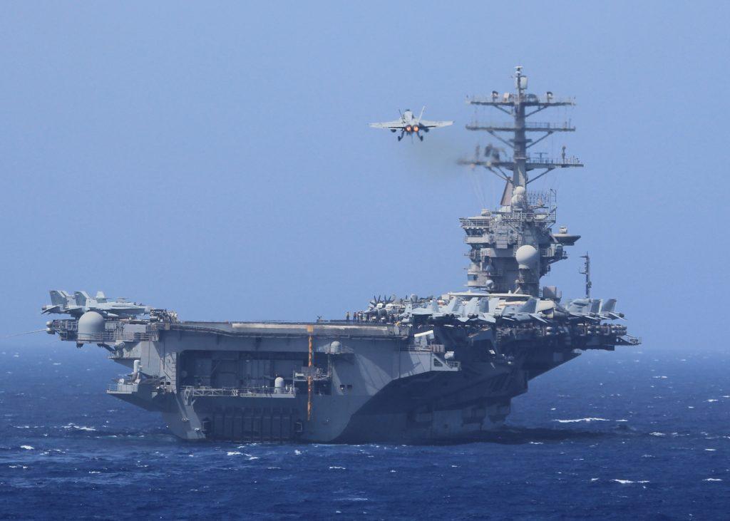 US Navy Deploys Third Aircraft Carrier Towards North Korea