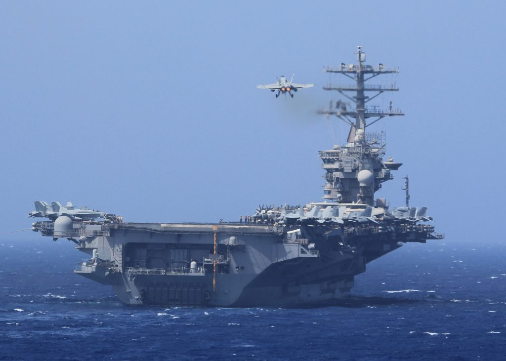US Navy Deploys Third Aircraft Carrier Towards North Korea