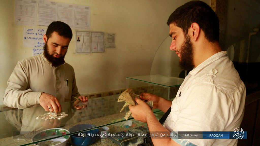 ISIS Imposes Own Currency In Controlled Areas