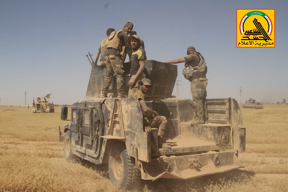 Iraqi PMU Reached Border With Syria In Western Nineveh