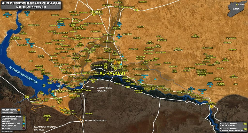 US-backed SDF Attempting To Cut Off Syrian Army From Raqqa Province