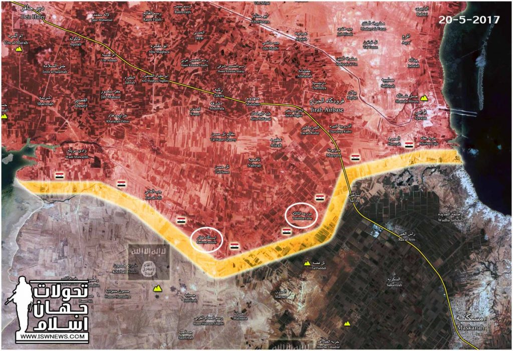 Tiger Forces Made More Gains During Advance On ISIS Stronghold Of Maskaneh