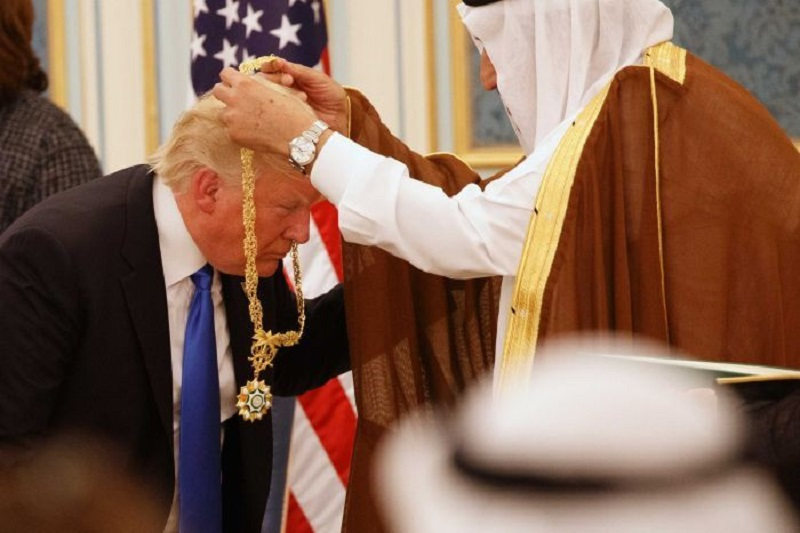 1-24 - Trump Completes $109.7 Billion Arms Deal With Saudi Arabia