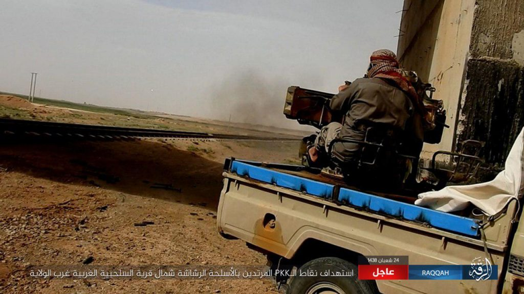 Syrian Democratic Forces Deploy Closer To ISIS Self-Proclaimed Capital Of Raqqah