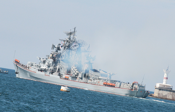 Guided Missile Destroyer 'Smetlivy' To Joint Russia's Naval Group In Mediterranean