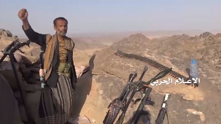 Houthi Forces Repelled Another Attack By Pro-Saudi Fighters In Al-Bayda, Launched Ballistic Missile On Saudi Capital