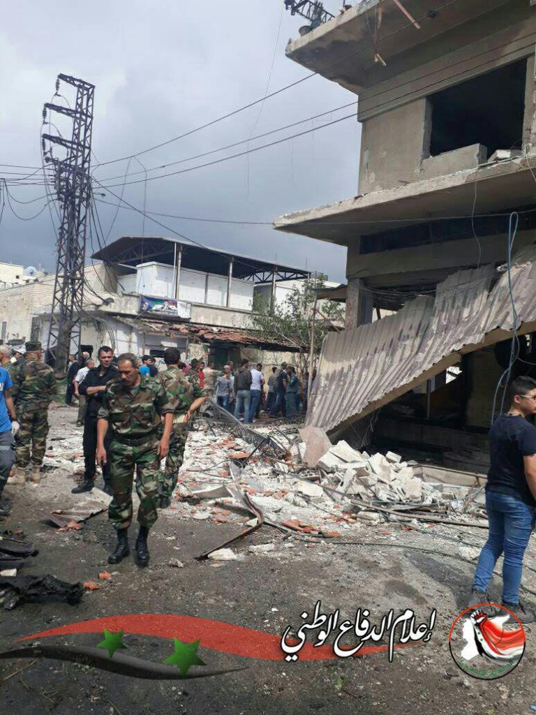 Syrian Security Forces Prevented Carbomb Attack On National Hospital In Homs - Photos