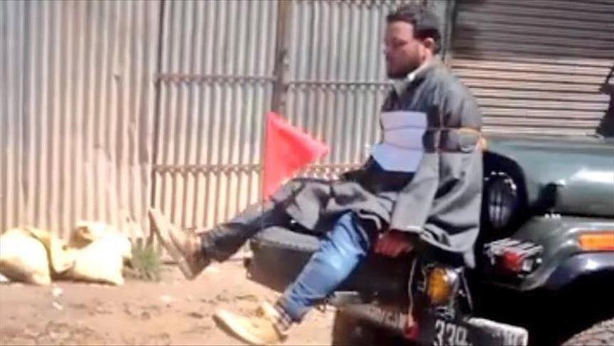 Indian Officer Used Civilian As Human Shield In Kashmir Region