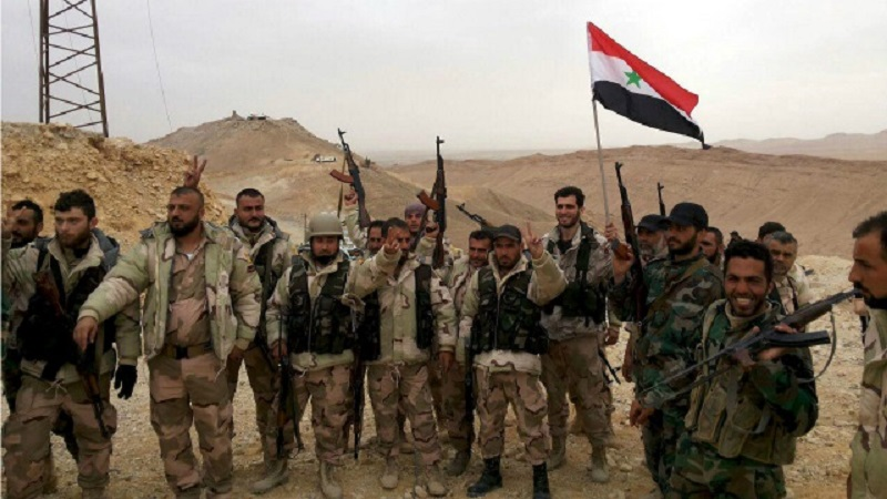 Syrian Army Makes Large Gains Against ISIS East Of Al-Qaryatayn