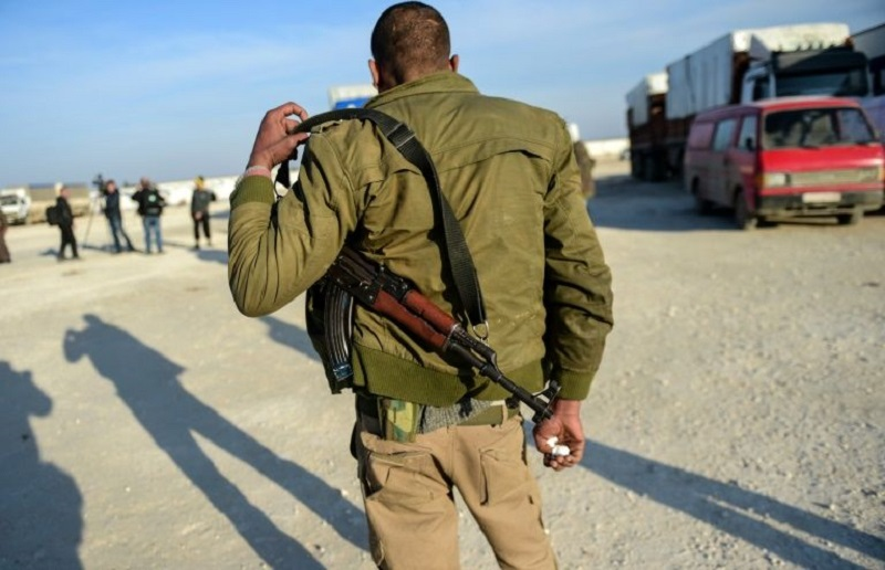 Turkish-backed Militant Groups Clash For Syrian Border Town Of Azaz