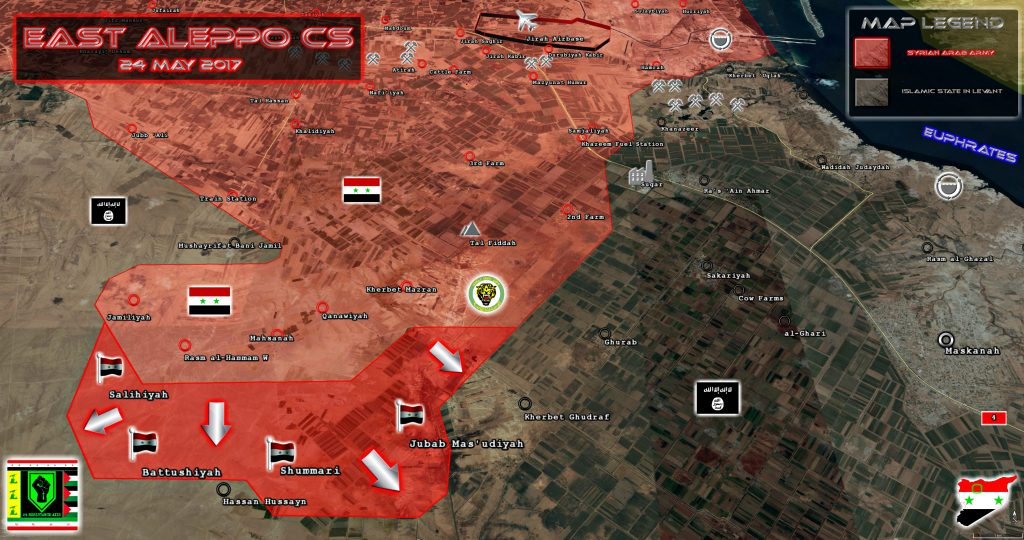 ISIS Is On Run In Eastern Aleppo. Tiger Forces Liberate 5 More Villages
