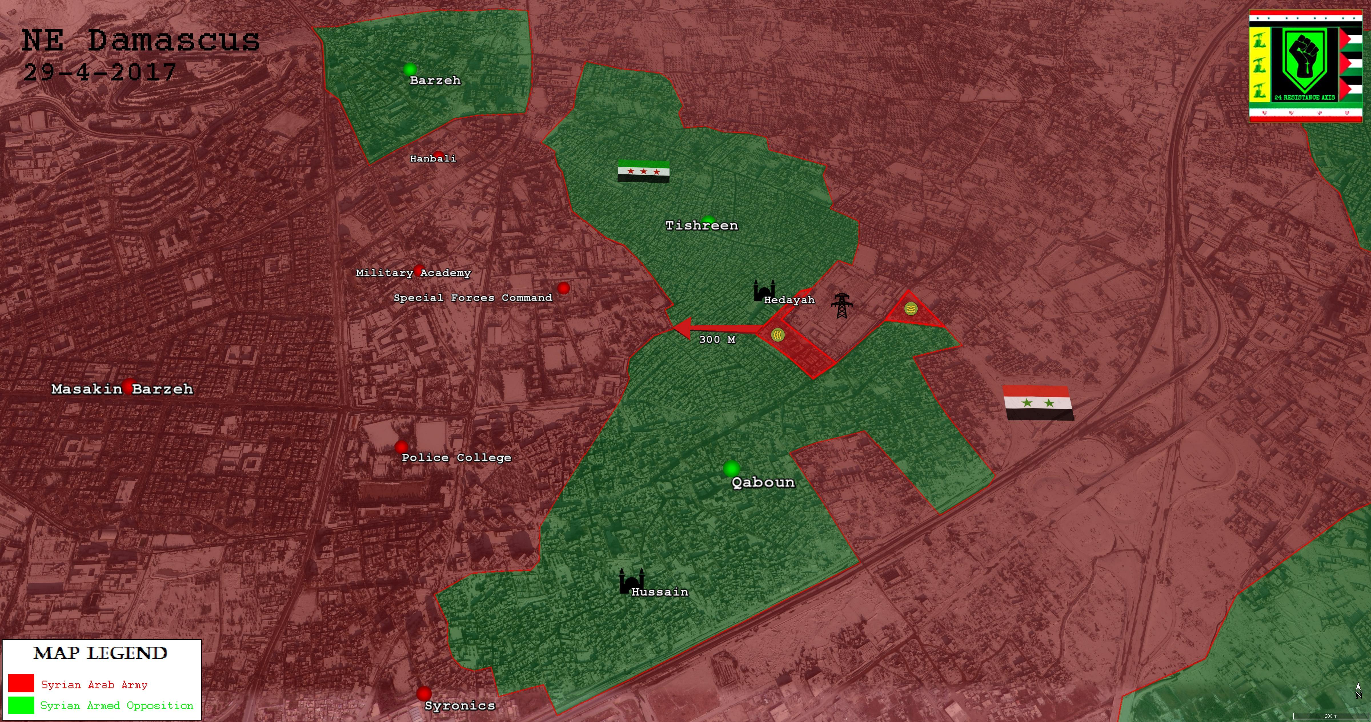 146 People Were Killed In Militants Infighting In Eastern Ghouta