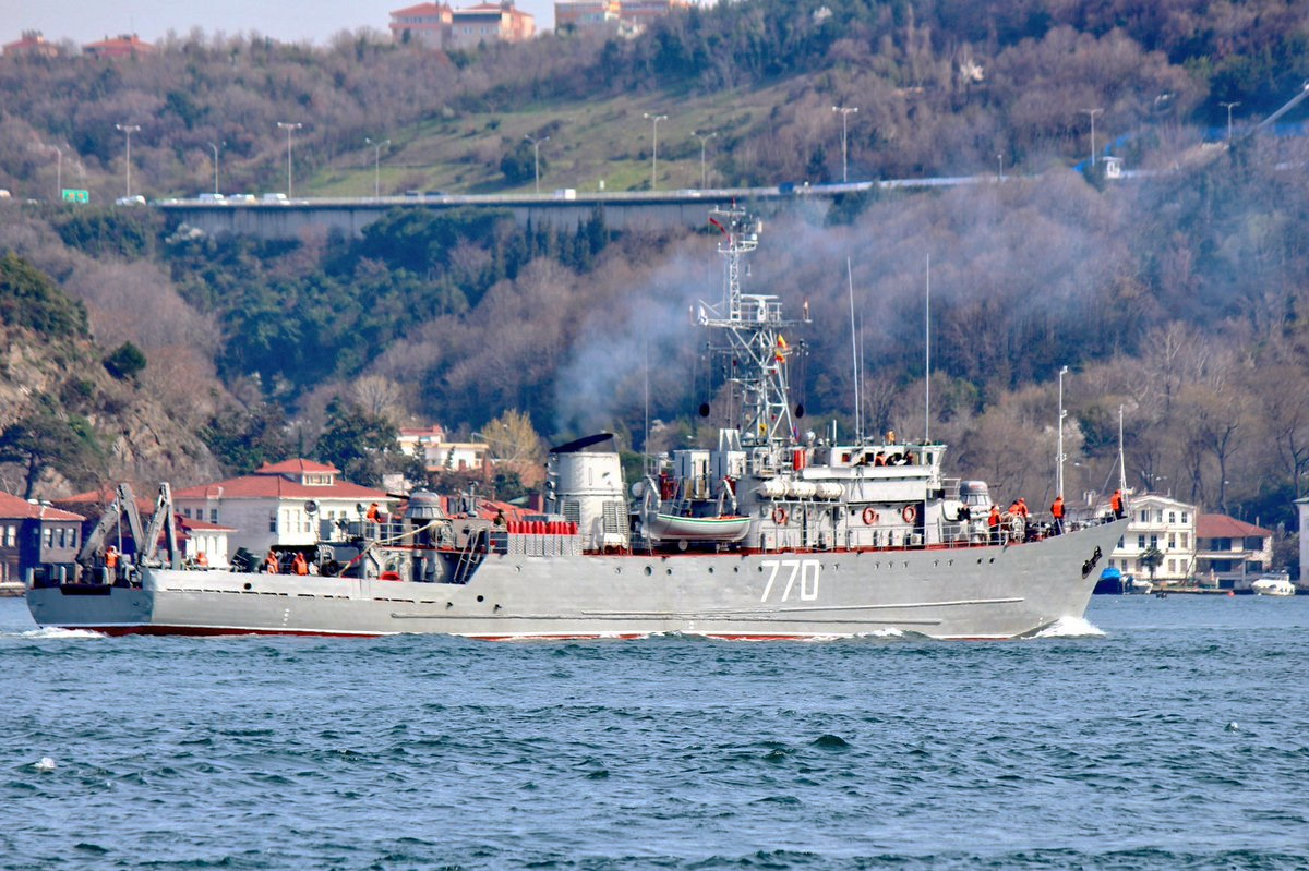 11. 800-ton seagoing minesweeper to strengthen the Mediterranean Operational Union, Bosphorus, March 24, 2017 (photo Yörük Işık)