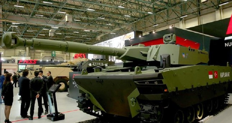 New Turkish-Indonesian Medium Weight Tank Revealed In Istanbul
