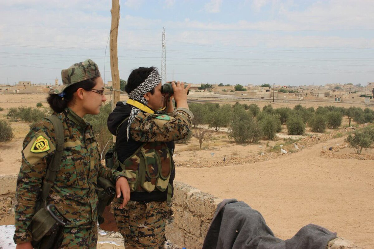 70 ISIS Withdrew From Tabqah Town And Tabqah Dam Under Deal With US-backed Forces