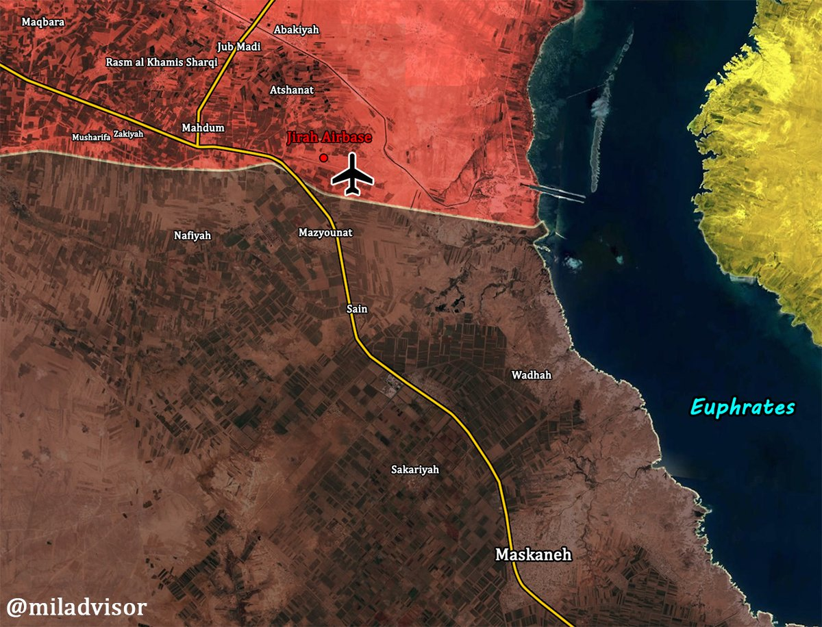 Tiger Froces Liberated Strategic Jirah Military Airbase From ISIS In Eastern Aleppo