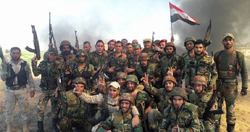 Government Forces Further Avdance Against ISIS In Homs Province