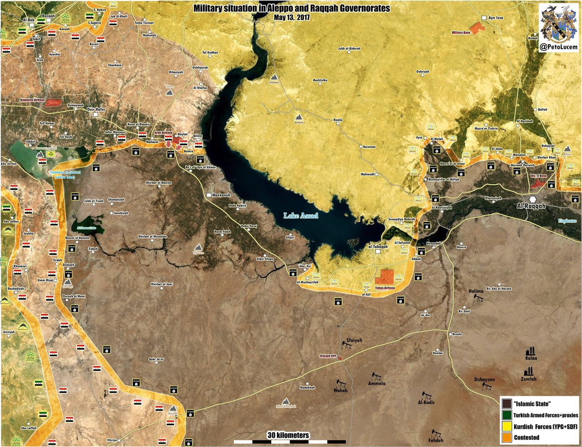 Syrian Army Advancing Towards Raqqah Province After Liberation Of Jirah Military Airbase