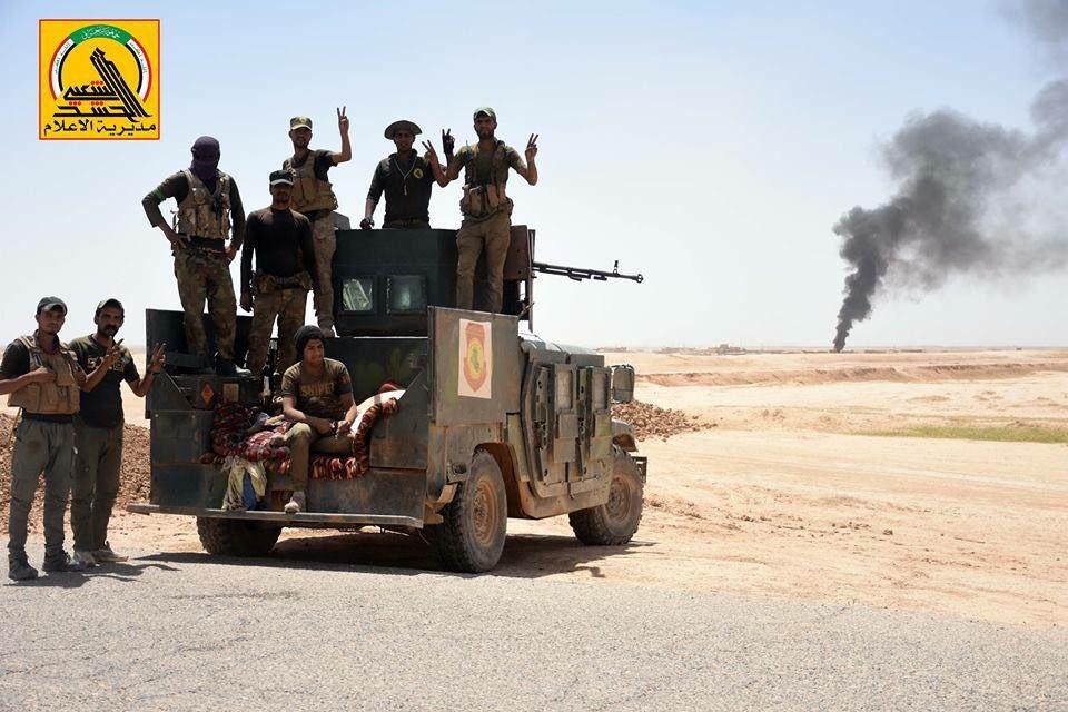 PMU Crushing ISIS North And East Of Kairwan (Video, Map)