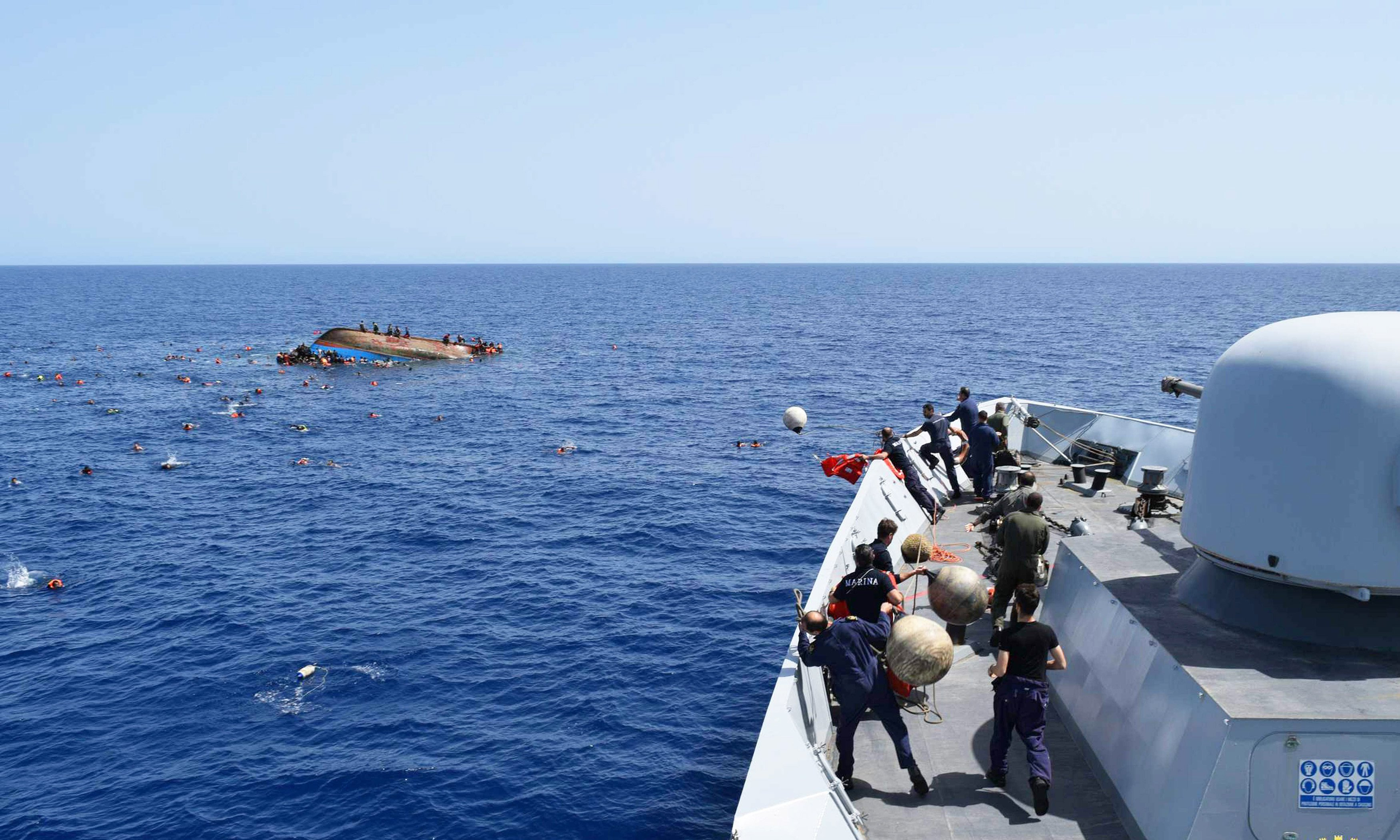 Germany, Italy Push EU Mission To Take Control Libya's Border With Niger And To Stop Migration Flow