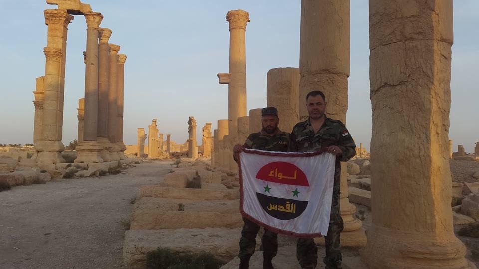 Liwa al-Quds Fighters In Palmyra Countryside - Photo Report