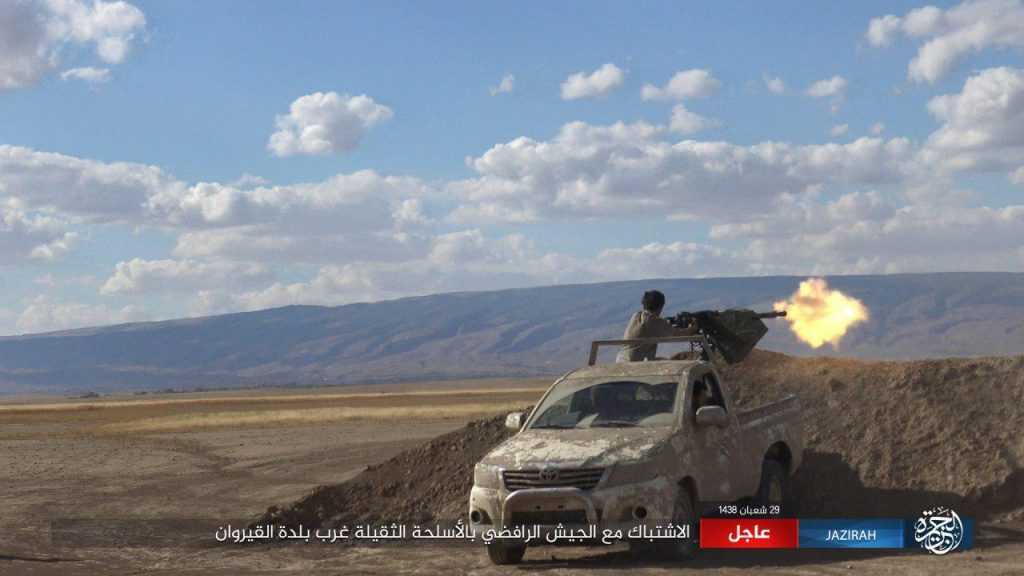 Popular Mobilization Units Liberated Sinjar Military Base