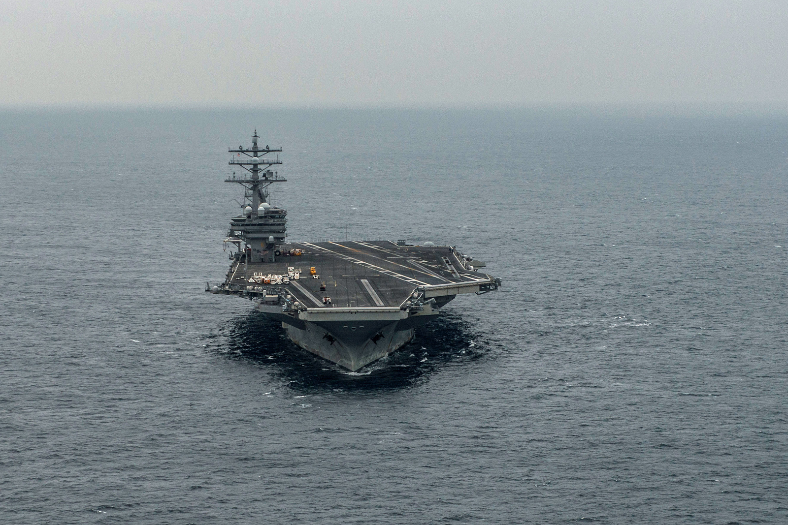 USS Ronald Reagan Cannot Departue From Japan's Yokosuka Due To Repair Issue