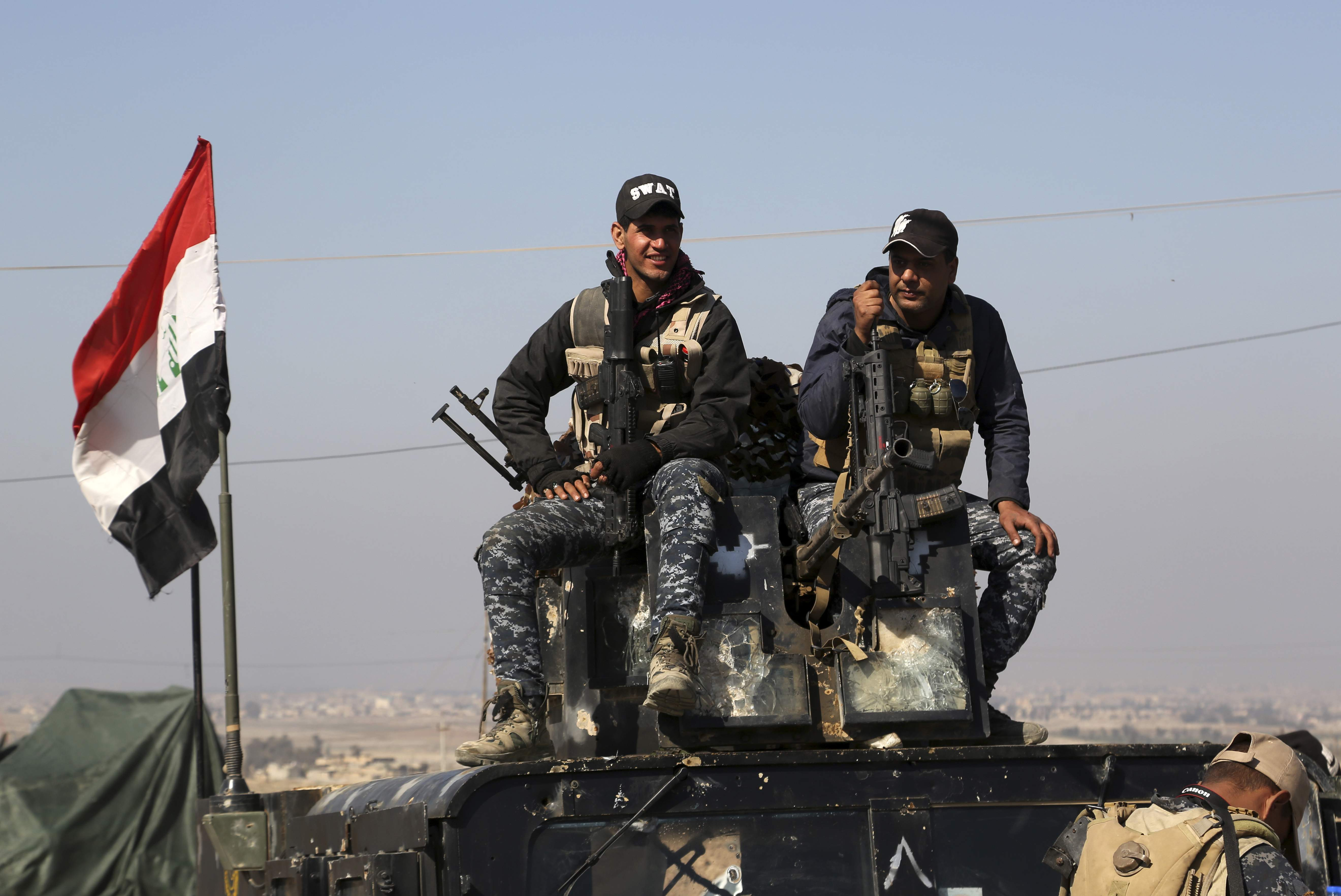 Iraqi Federal Police: 850 ISIS Members Killed In Mosul Since February