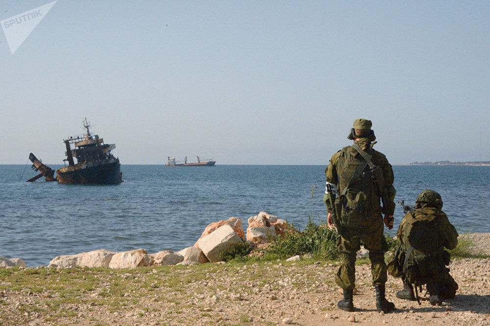 Russian, Syrian Marines Hold Joint Firing Drills In Tartus - Photo Report