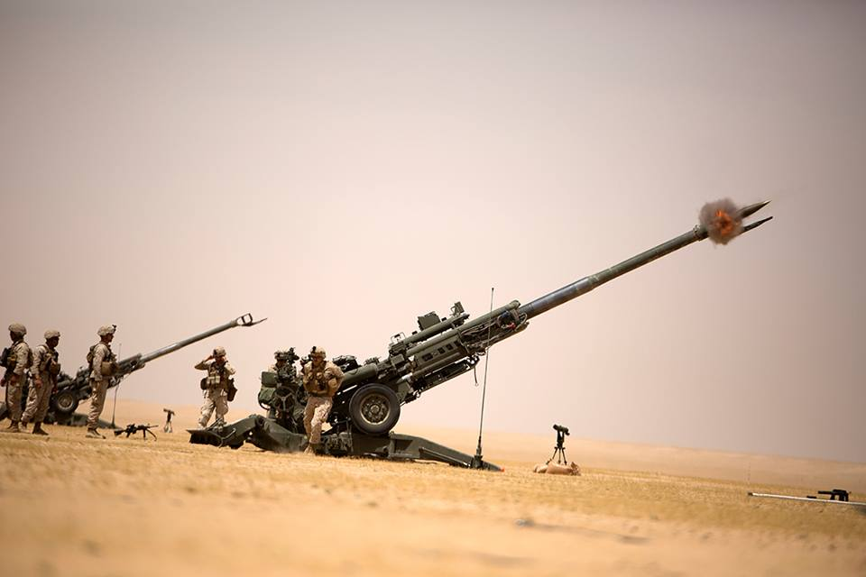 US Military Deploys New Marine Artillery Unit Ahead Of Offensive On ISIS-Held Raqqah