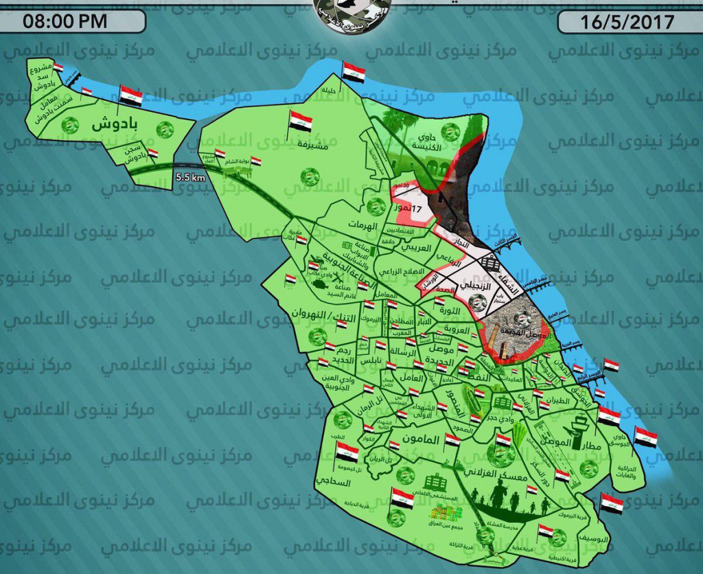 Iraqi Army Captures Major Part Of Al-Rifai District In Western Mosul (Maps, Videos)