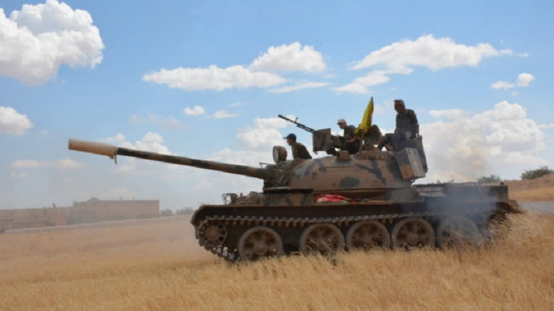 US-backed Forces Isolate Further ISIS-held City Of Raqqah