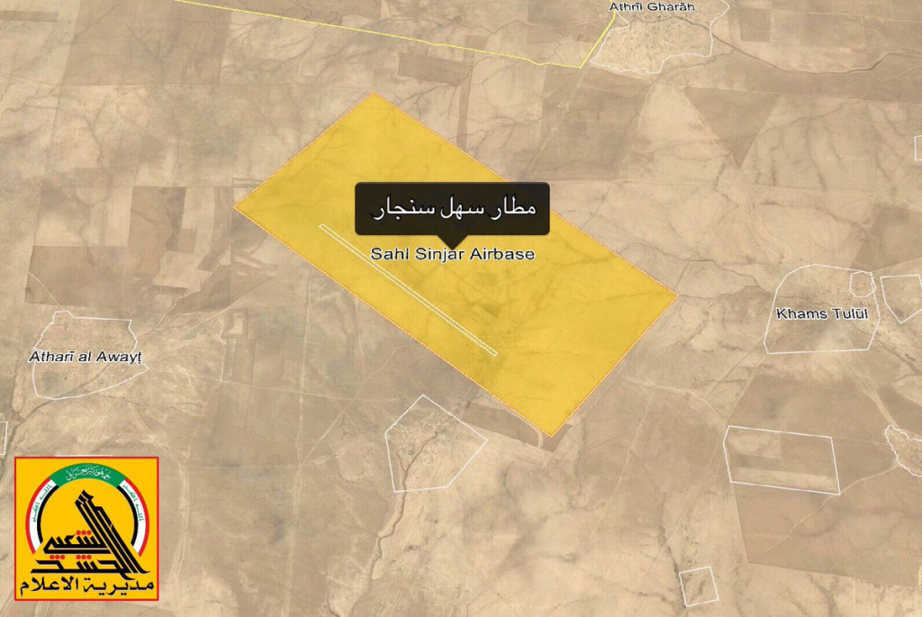 Popular Mobilization Units Liberated Sahl Sinjar Airbase West Of Mosul