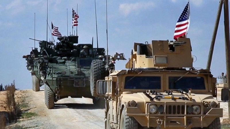 FILE IMAGE: US troops in Syria