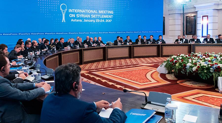'Rebels' Once Again Sabotage Syria Peace Talks